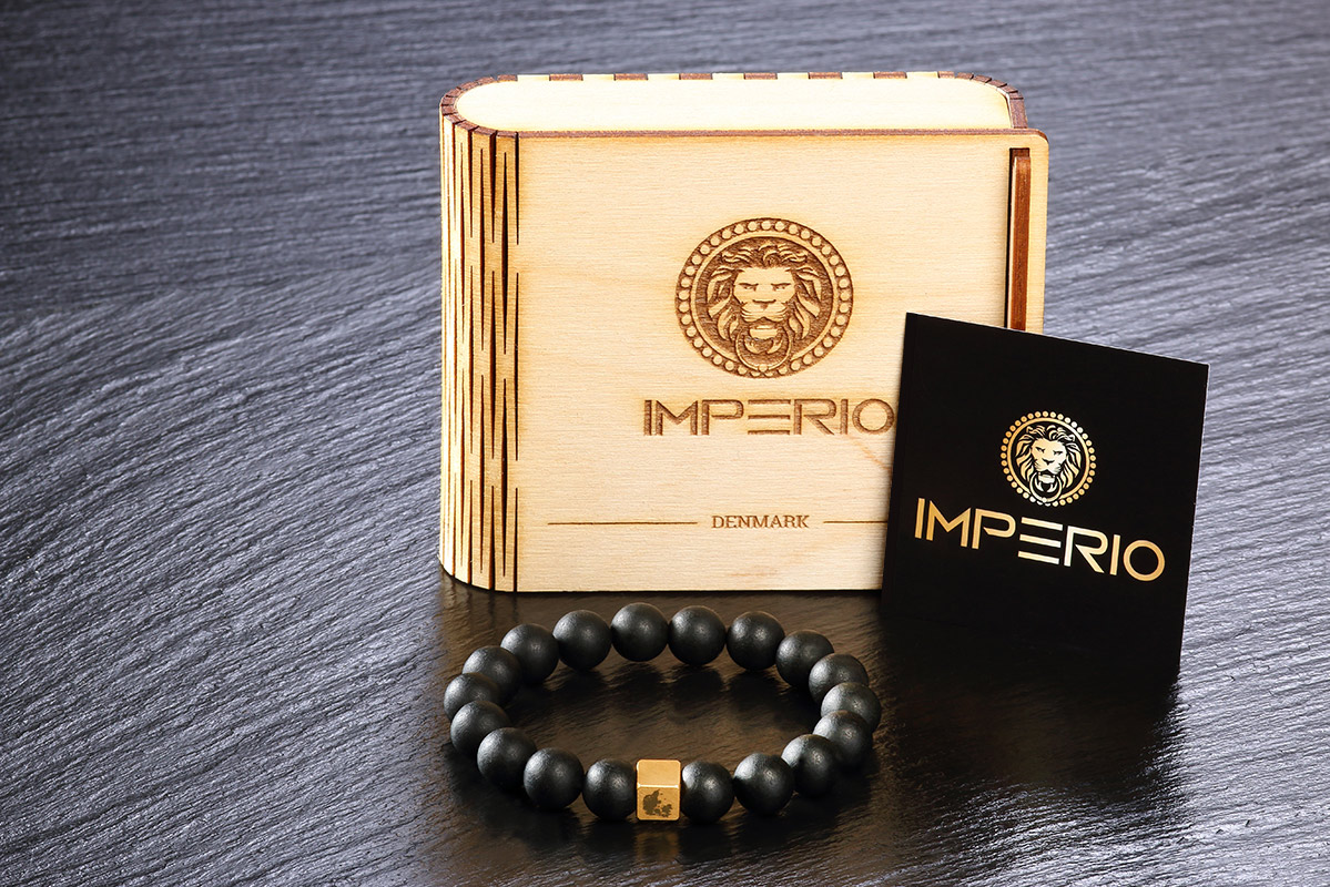 Imperio bracelet with Wooden gift box- Empire